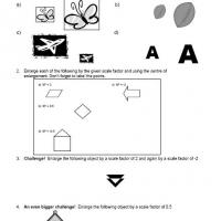 Printable Enlargement Scale Factor - Free Printable Math Worksheets - Free Printable Worksheets
