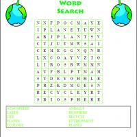 Printable Environment Word Search - Printable Word Search - Free Printable Games