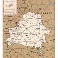 Europe- Belarus Political Map