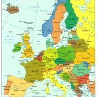 Printable Europe Political Map - Printable Maps - Misc Printables