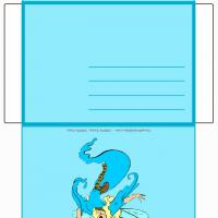 Printable Fairy Envelope - Printable Card Maker - Free Printable Cards