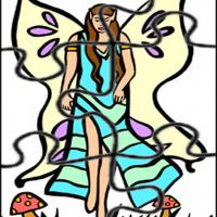 Printable Fairy Jigsaw - Printable Puzzles - Free Printable Games