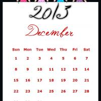 Printable Fairy Princesses December 2013 Calendar - Printable Monthly Calendars - Free Printable Calendars