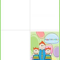 Printable Father and Sons Father's Day - Printable Fathers Day Cards - Free Printable Cards