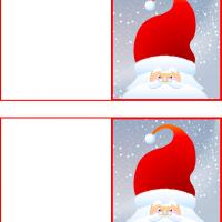 Printable Father Christmas Cards - Printable Christmas Cards - Free Printable Cards