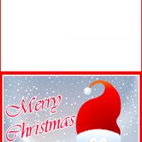 Printable Father Christmas Greetings - Printable Christmas Cards - Free Printable Cards