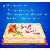Printable Father's Day Cake - Printable Fathers Day Cards - Free Printable Cards