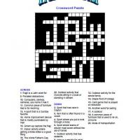Father's Day Crossword