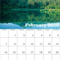 February 2010 Nature Calendar