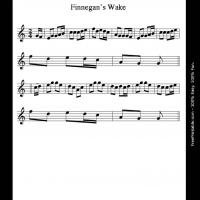 Printable Finnegan's Wake - Printable Flute Music - Free Printable Music