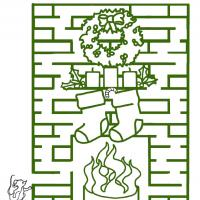 Printable Fireplace Maze - Printable Mazes - Free Printable Games