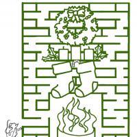 Fireplace Maze