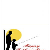 Printable Fishing On Father's Day - Printable Fathers Day Cards - Free Printable Cards