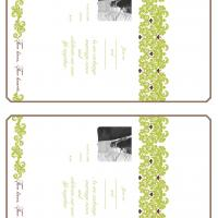 Flourish Fill-in Card Invitation