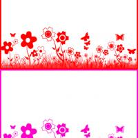 Printable Flower Postcards - Printable Card Maker - Free Printable Cards