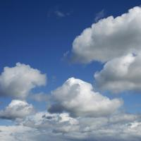 Printable Fluffy White Clouds - Printable Nature Pictures - Free Printable Pictures