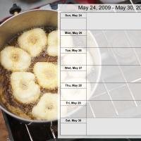 Food Themed Weekly Planner May 24-30 2009