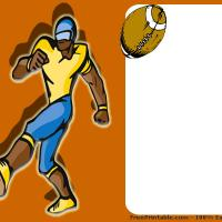 Printable Football Game Invitation - Printable Party Invitation Cards - Free Printable Invitations