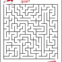 Printable Football Player Maze - Printable Mazes - Free Printable Games