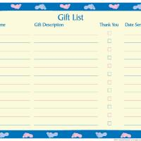 page of baby shower guest list baby shower guest list guest of honor