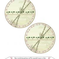 Printable Bamboo Glade Fortune Cookie - Paper Crafts - Free Printable Crafts