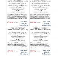 Printable JC Penny Free 8x10 Portrait - Printable Discount Coupons - Free Printable Coupons