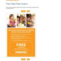 Printable Gymboree Free Class at Play and Music - Printable Discount Coupons - Free Printable Coupons