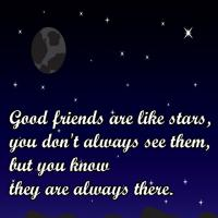Printable Friends are Like Stars Quote - Printable Friendship Quotes - Free Printable Quotes