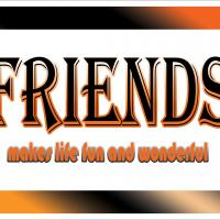 Friends Postcard