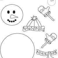 Printable Frosty Template - Printable Templates - Free Printable Activities