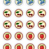 Printable Fruits Label - Printable Labels - Misc Printables