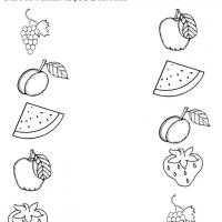 Printable Fruits Like Recognition - Printable Preschool Worksheets - Free Printable Worksheets