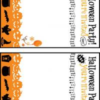 Printable Fun Halloween Party Invitation Cards - Printable Party Invitation Cards - Free Printable Invitations