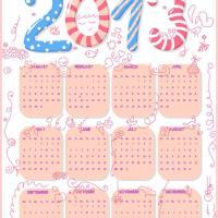 Fun Kids Graffiti 2013 Calendar