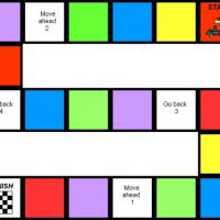 Printable Game Track Board Game - Printable Board Games - Free Printable Games