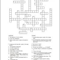 Printable General Crossword 2 - Printable Crosswords - Free Printable Games