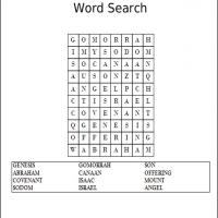 Printable Genesis 3 Word Search - Printable Word Search - Free Printable Games