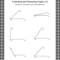 Printable Geometric Angle Measurement - Printable Classroom Lessons - Free Printable Lessons