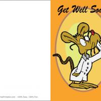 Get Well Soon Mouse