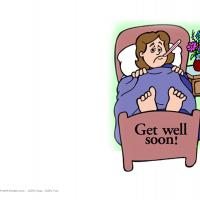 Printable get well soon - Printable Get Well Cards - Free Printable Cards