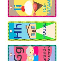 Printable GHI Lesson Bookmarks - Printable Bookmarks - Free Printable Crafts