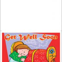 Printable Girl Not Feeling Well - Printable Get Well Cards - Free Printable Cards