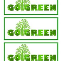 Printable Go Green Bookmarks - Printable Bookmarks - Free Printable Crafts