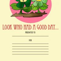 Printable Good Day Award - Printable Awards - Misc Printables