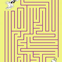 Printable Goofy Finding The Keys - Printable Mazes - Free Printable Games
