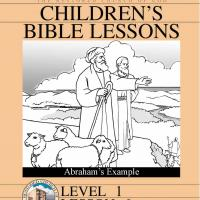 Printable Grade 1 Bible Study: Abraham's Example - Printable Church Worksheets and Lessons - Free Printable Worksheets