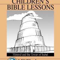 Printable Grade 1 Bible Study: Nimrod and the Tower of Babel - Printable Church Worksheets and Lessons - Free Printable Worksheets
