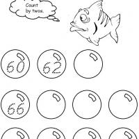 Printable Grade 1 Math-60 to 80 Counting by Twos - Free Printable Math Worksheets - Free Printable Worksheets