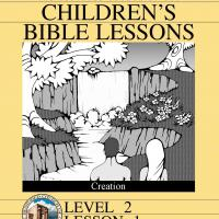 Grade 2 Bible Study: Creation