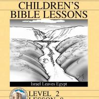 Printable Grade 2 Bible Study: Israel Leaves Egypt - Printable Church Worksheets and Lessons - Free Printable Worksheets